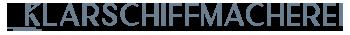 Klarschiffmacherei Logo